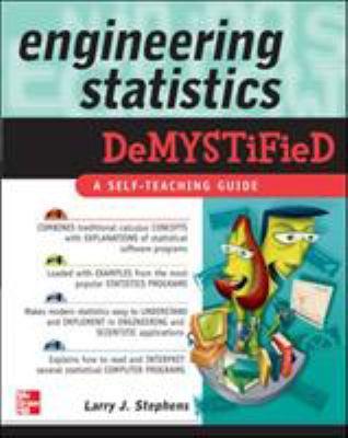 Engineering Statistics Demystified 9780071462723