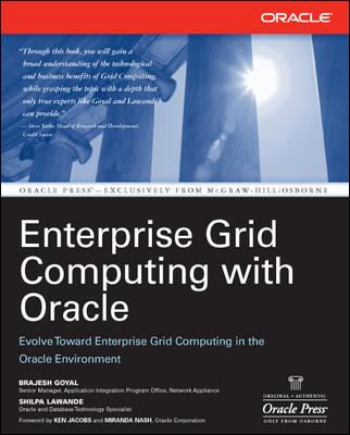 Enterprise Grid Computing with Oracle 9780072262803