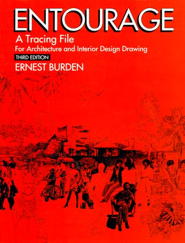 Entourage: A Tracing File for Architecture and Interior Design Drawing 9780070089440
