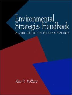 Environmental Strategies Handbook 9780070358584
