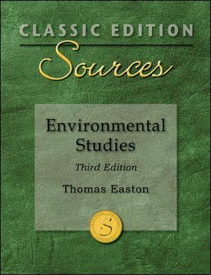 Environmental Studies 9780073527581