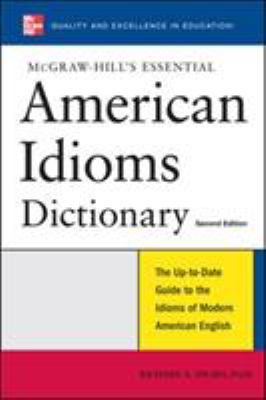 Essential American Idioms Dictionary 9780071497848