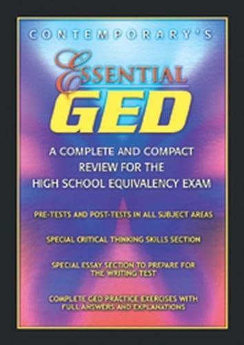 Essential GED 9780072527544