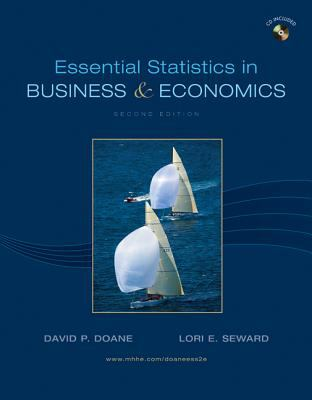 Essential Statistics in Business & Economics [With Access Code] 9780078007996