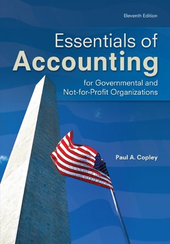 Essentials of Accounting for Governmental and Not-For-Profit Organizations 9780078025457