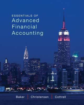 Essentials of Advanced Financial Accounting with Connect Plus 9780077869755
