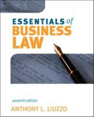 Essentials of Business Law 9780073377056
