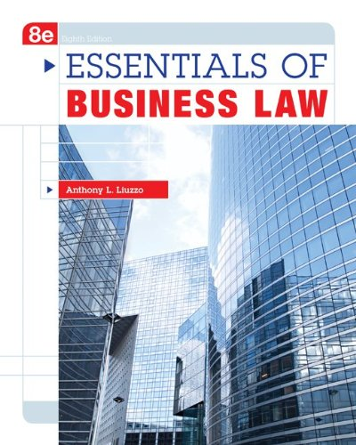 Essentials of Business Law 9780073511856