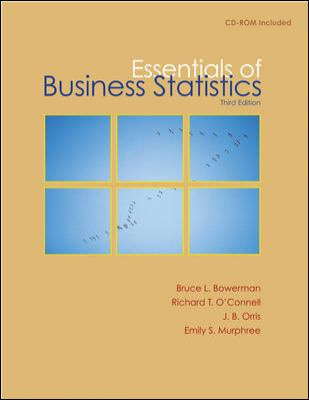 Essentials of Business Statistics 9780073373683