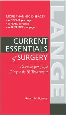 Essentials of Diagnosis & Treatment in Surgery 9780071423144