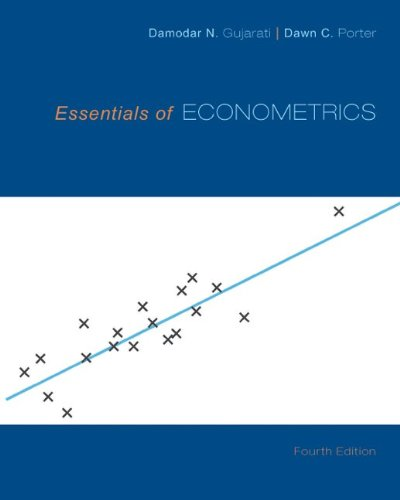 essentials of econometrics 4th edition by damodar n gujarati dawn