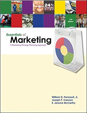 Essentials of Marketing: A Marketing Strategy Planning Approach [With CDROM] 9780077216436