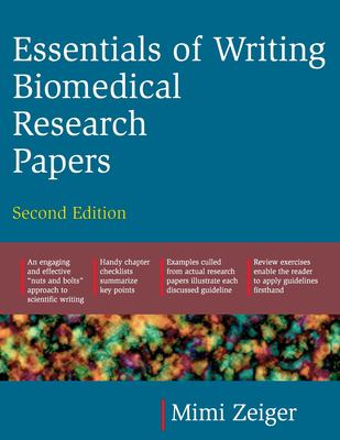 Essentials of Writing Biomedical Research Papers. Second Edition 9780071345446