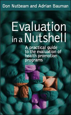 Evaluation in a Nutshell 9780074715536