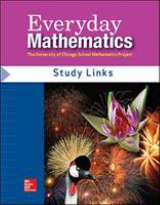 Everyday Math - Consumable Study Links Grade 4 9780076097418