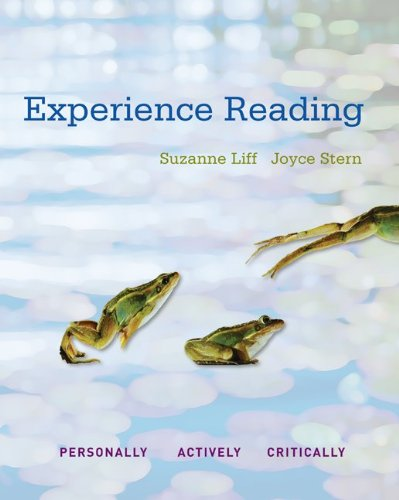 Experience Reading, Book 1 9780073292380