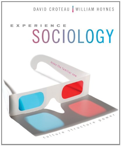 Experience Sociology 9780073193533
