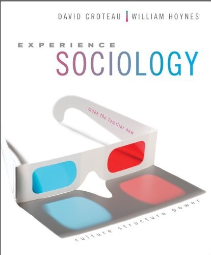 Experience Sociology with Connect Plus Access Card 9780077606268