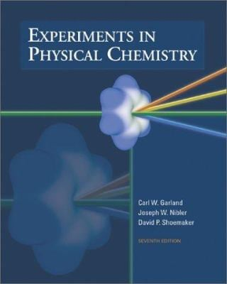 Experiments in Physical Chemistry 9780072318210