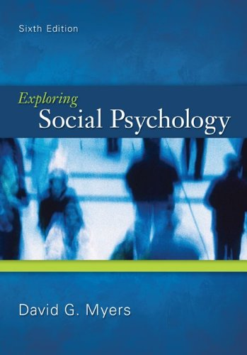 Exploring Social Psychology 9780078035173