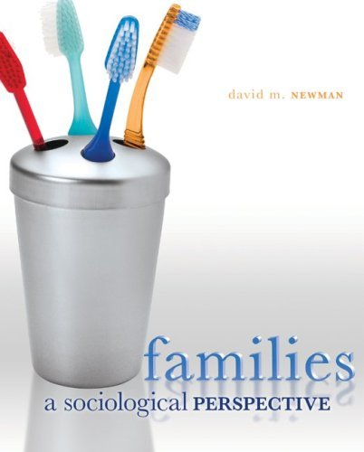 Families: A Sociological Perspective 9780073404165