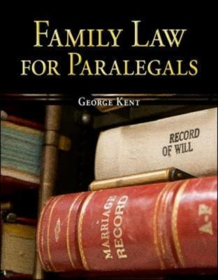 Family Law for Paralegals 9780073376974