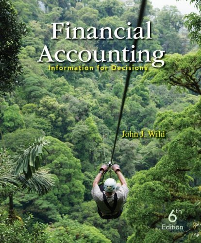 Financial Accounting: Information for Decisions 9780078025389