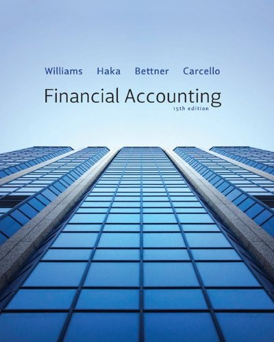 Financial Accounting - 15th Edition