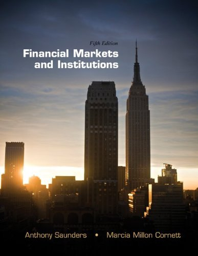 Financial Markets and Institutions 9780077512859