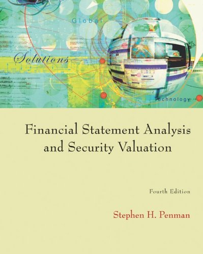Financial Statement Analysis and Security Valuation - 4th Edition