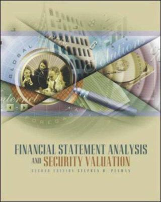 Financial Statement Analysis and Security Valuation 9780072533170