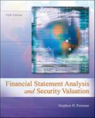 Financial Statement Analysis and Security Valuation 9780078025310