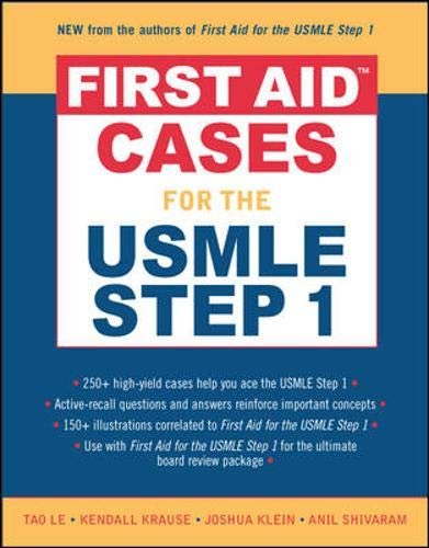 First Aid Cases for the USMLE Step 1 9780071464109