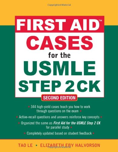 First Aid Cases for the USMLE Step 2 CK 9780071625708