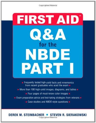 First Aid Q&A for the NBDE Part I 9780071508667