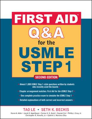 First Aid Q&A for the USMLE Step 1 9780071597944