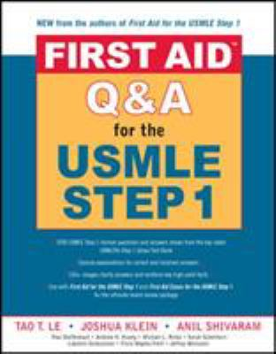 First Aid Qanda for the USMLE Step 1 9780071481724