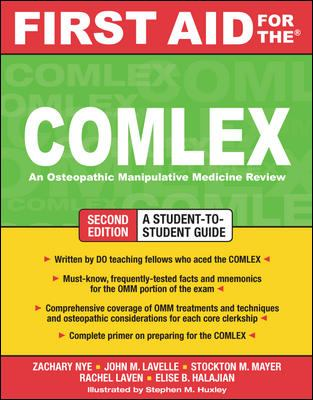 First Aid for the COMLEX: An Osteopathic Manipulative Medicine Review 9780071600255