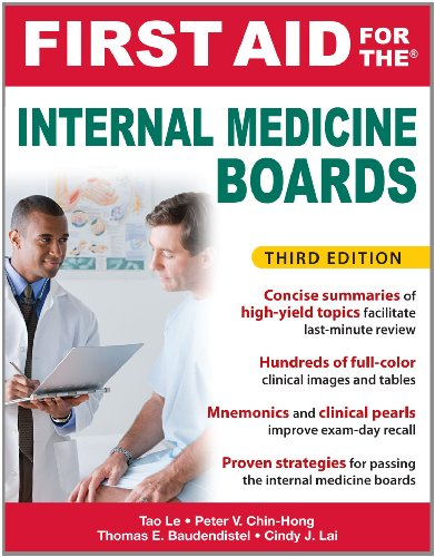 First Aid for the Internal Medicine Boards 9780071713016