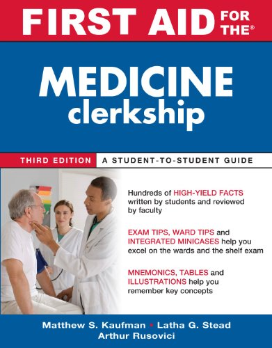 First Aid for the Medicine Clerkship 9780071633826