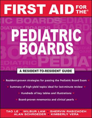 First Aid for the Pediatric Boards 9780071421676