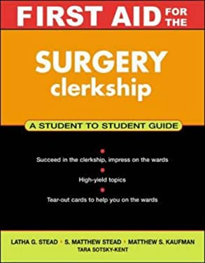 First Aid for the Surgery Clerkship 9780071364225