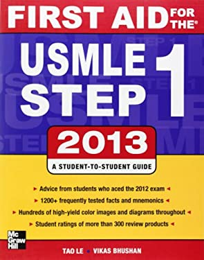 First Aid for the USMLE Step 1 2013 9780071802321