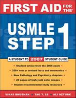 First Aid for the USMLE Step 1 9780071475310