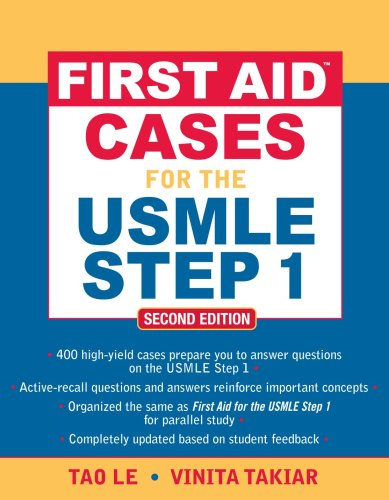 First Aid(tm) Cases for the USMLE Step 1: Second Edition 9780071601351