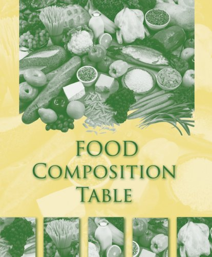 Food Composition Table 9780073402567