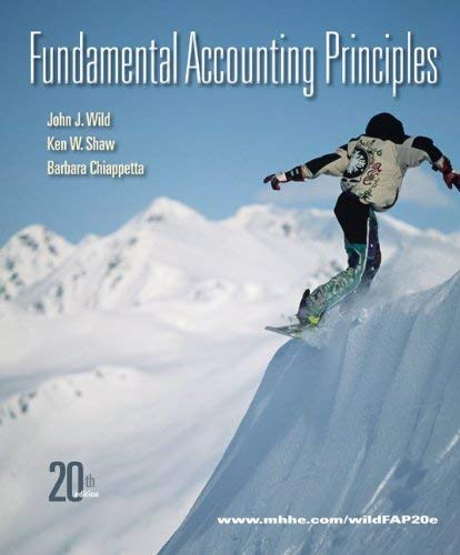 Fundamental Accounting Principles 9780077405144