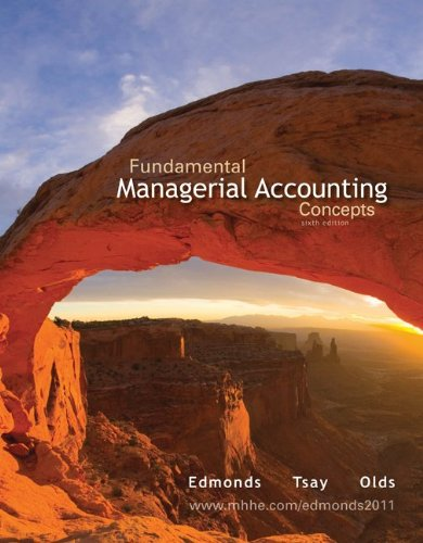 Fundamental Managerial Accounting Concepts - 6th Edition