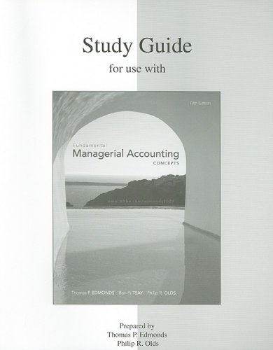 Fundamental Managerial Accounting Concepts 9780077286248