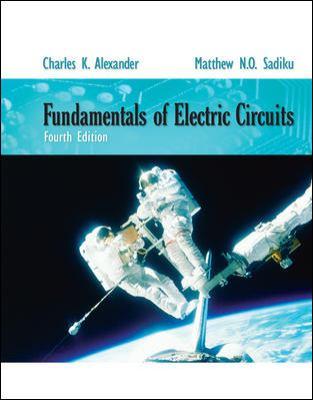 Fundamentals Electric Circuits 9780073529554